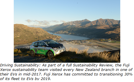 FujiXerox Electric Vehicles